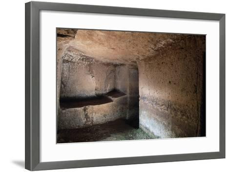 Tombs Near Tomba a Dado--Framed Art Print