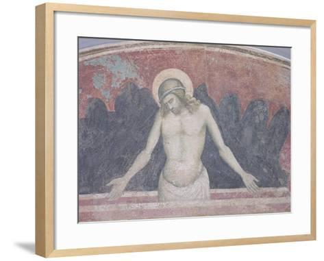 Cristo in Pieta, 1365-70-Niccolo Di Tommaso-Framed Art Print