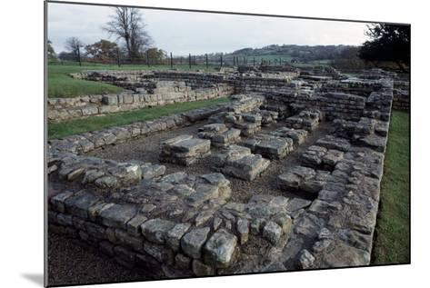 Ruins of Chesters Roman Fort, Hadrian's Wall--Mounted Photographic Print