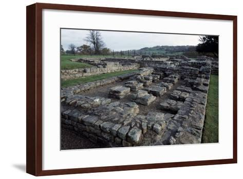 Ruins of Chesters Roman Fort, Hadrian's Wall--Framed Art Print