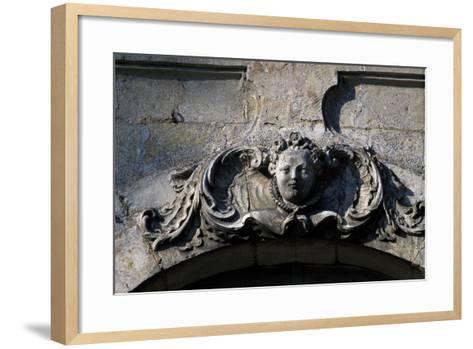 Frieze, Couin Castle--Framed Art Print