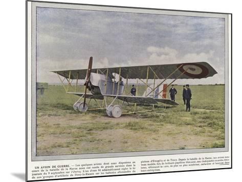 Un Avion De Guerre-Jules Gervais-Courtellemont-Mounted Photographic Print