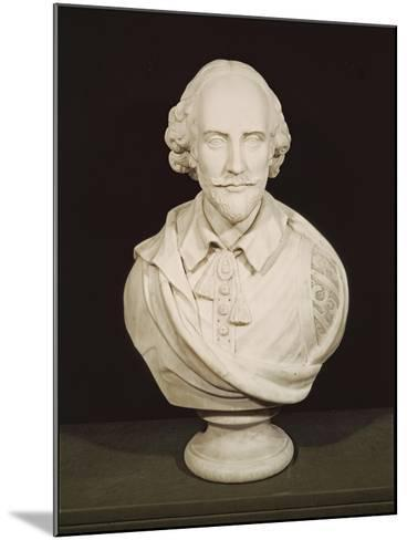 Bust of William Shakespeare--Mounted Giclee Print