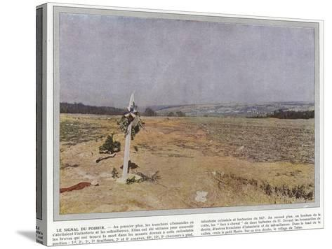 Le Signal Du Poirier-Jules Gervais-Courtellemont-Stretched Canvas Print
