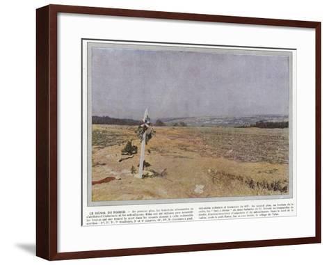 Le Signal Du Poirier-Jules Gervais-Courtellemont-Framed Art Print