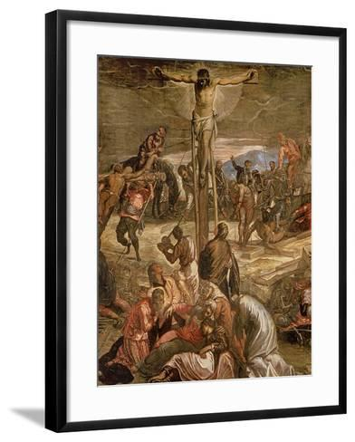 The Crucifixion of Christ, 1565-Jacopo Robusti Tintoretto-Framed Art Print