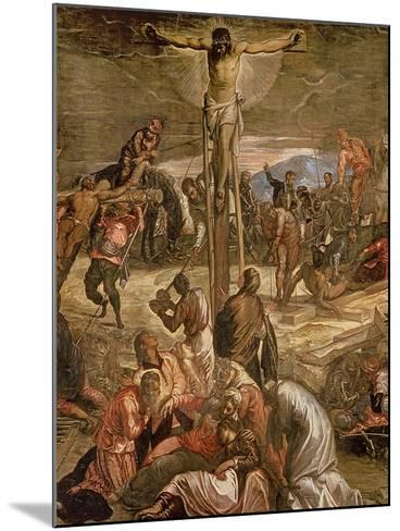 The Crucifixion of Christ, 1565-Jacopo Robusti Tintoretto-Mounted Giclee Print