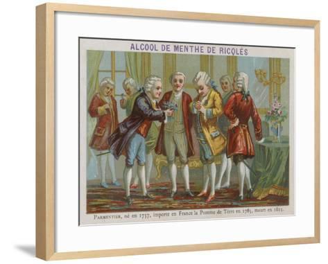 Antoine-Augustin Parmentier, French Agronomist--Framed Art Print