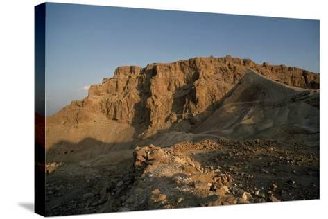 View of Masada--Stretched Canvas Print