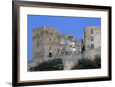 Tower of Montrond-Les-Bains Castle--Framed Art Print