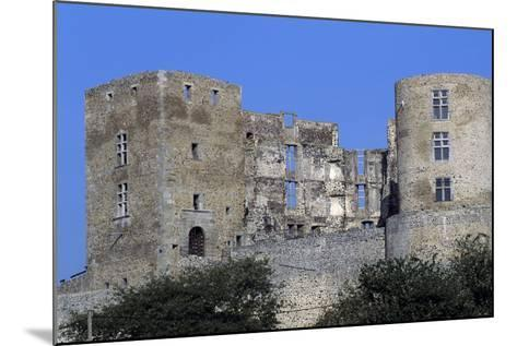 Tower of Montrond-Les-Bains Castle--Mounted Giclee Print