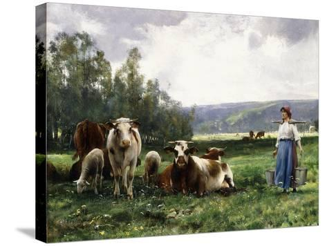 The Cow Pasture-Julien Dupre-Stretched Canvas Print