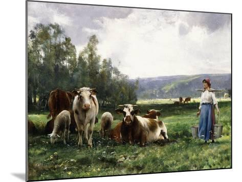 The Cow Pasture-Julien Dupre-Mounted Giclee Print