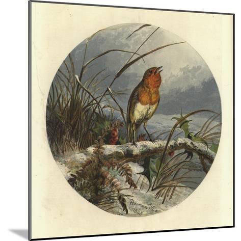 The Christmas Carol Singer-Harrison William Weir-Mounted Giclee Print