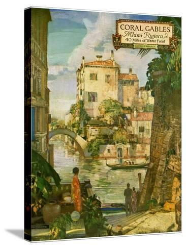 ?Ideal Florida Homes at Coral Gables, 1926--Stretched Canvas Print