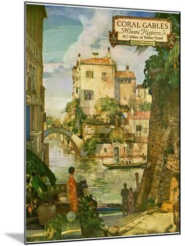 ?Ideal Florida Homes at Coral Gables, 1926--Mounted Giclee Print