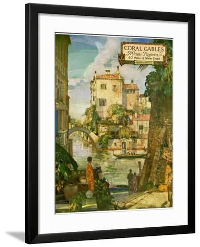 ?Ideal Florida Homes at Coral Gables, 1926--Framed Art Print