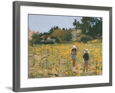 French Meadow, 1991-Gillian Furlong-Framed Art Print