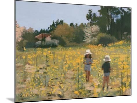 French Meadow, 1991-Gillian Furlong-Mounted Giclee Print