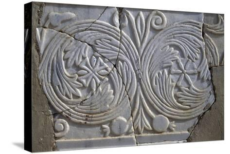 Bas-Relief in Avdat--Stretched Canvas Print