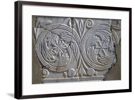 Bas-Relief in Avdat--Framed Art Print