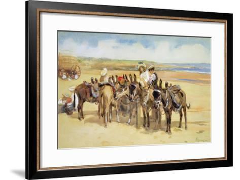 Tynemouth Sands, 1907-John Atkinson-Framed Art Print