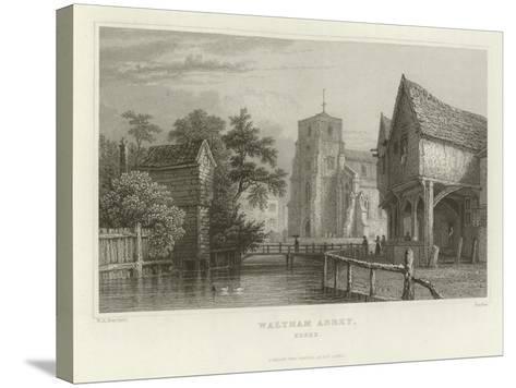 Waltham Abbey, Essex-William Henry Bartlett-Stretched Canvas Print