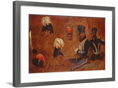 Studies of Military Accoutrements, 1815-George Jones-Framed Art Print