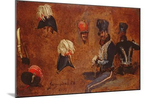 Studies of Military Accoutrements, 1815-George Jones-Mounted Giclee Print
