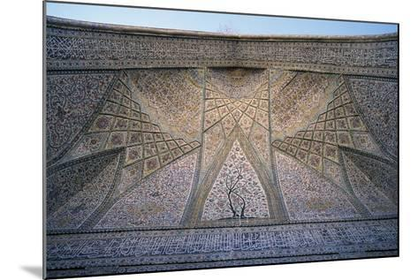 Ceiling of Eastern Iwan of Vakil Mosque--Mounted Giclee Print