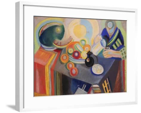 The Portuguese Jug, 1916-Robert Delaunay-Framed Art Print