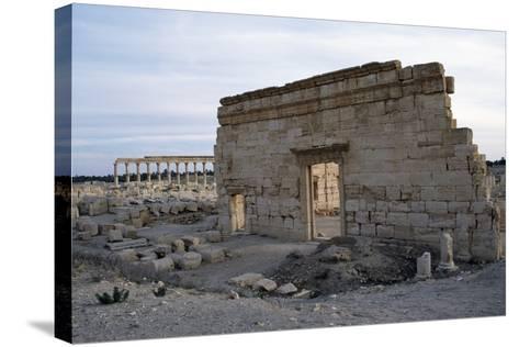 Agora, Palmyra--Stretched Canvas Print