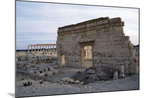 Agora, Palmyra--Mounted Photographic Print