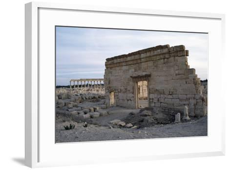 Agora, Palmyra--Framed Art Print