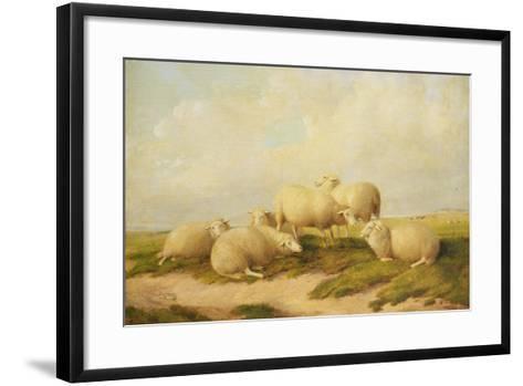 Sheep-Thomas Sidney Cooper-Framed Art Print