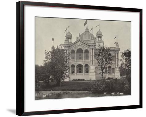 The Brazilian Building--Framed Art Print