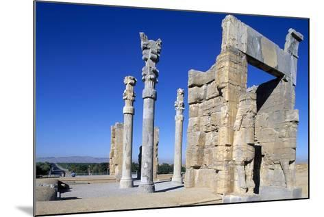 Gate of All Nations or of Xerxes, Persepolis--Mounted Photographic Print