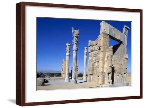 Gate of All Nations or of Xerxes, Persepolis--Framed Art Print
