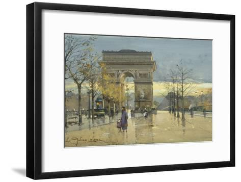 Arc De Triomphe-Eugene Galien-Laloue-Framed Art Print