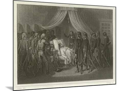 The Death of General Hoche-Denis Auguste Marie Raffet-Mounted Giclee Print