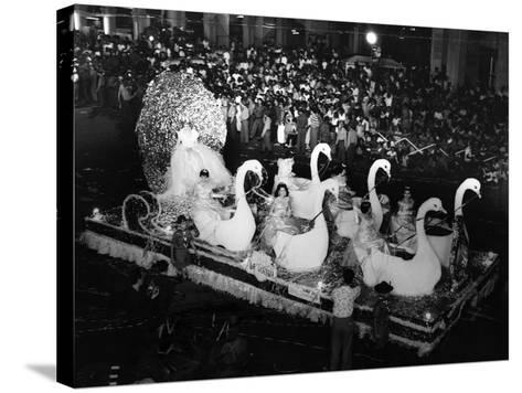 Carnival Parade in Havana, 1959--Stretched Canvas Print