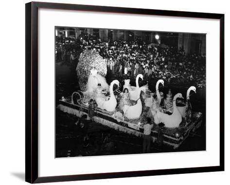 Carnival Parade in Havana, 1959--Framed Art Print