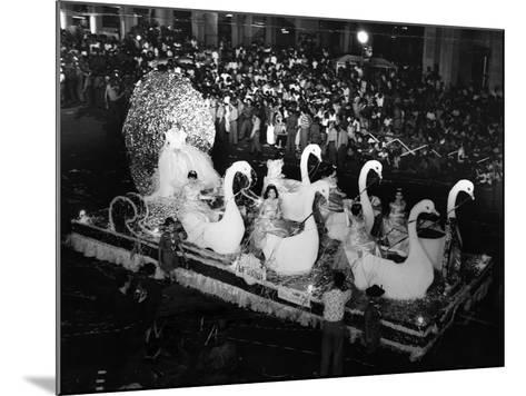 Carnival Parade in Havana, 1959--Mounted Photographic Print