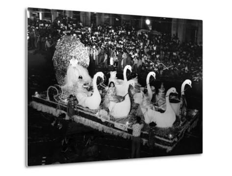 Carnival Parade in Havana, 1959--Metal Print