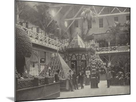 South End of the California Building--Mounted Photographic Print