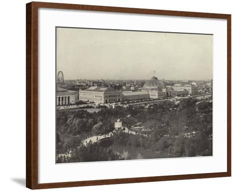 From the Ferris Wheel to the California Building--Framed Art Print