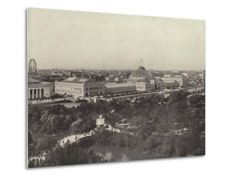 From the Ferris Wheel to the California Building--Metal Print