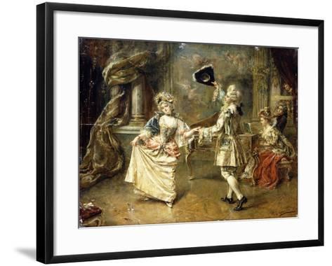 The Start of the Dance-Eduardo-leon Garrido-Framed Art Print