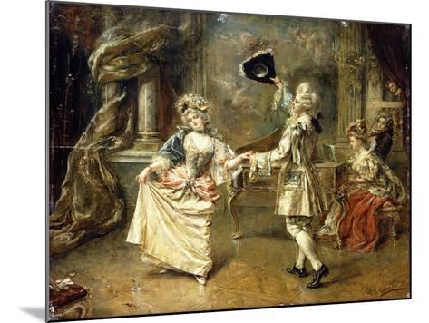 The Start of the Dance-Eduardo-leon Garrido-Mounted Giclee Print