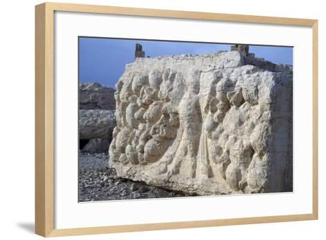 Bas-Relief from Temple of Bel or Baal, Palmyra--Framed Art Print